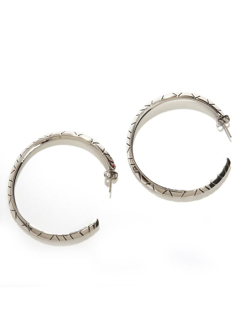 House Of Harlow Tribal Hoop Earrings - Silver main image