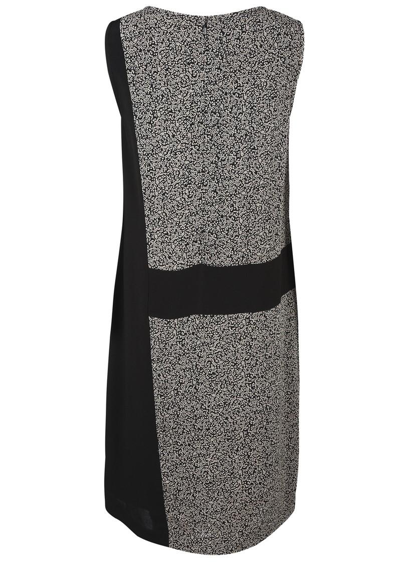 Great Plains Dizzy Tweed Contrast Dress - Black & Milky main image