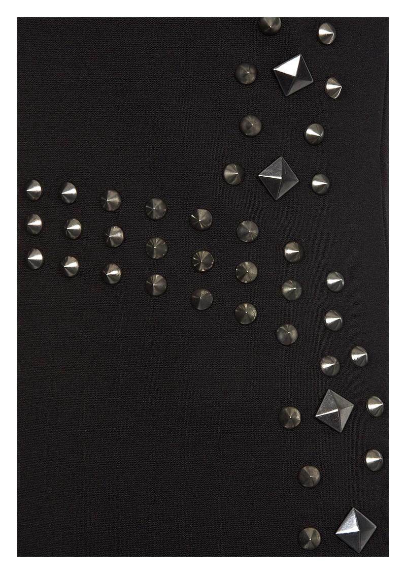 Hale Bob Studded Sleeveless Dress - Black main image