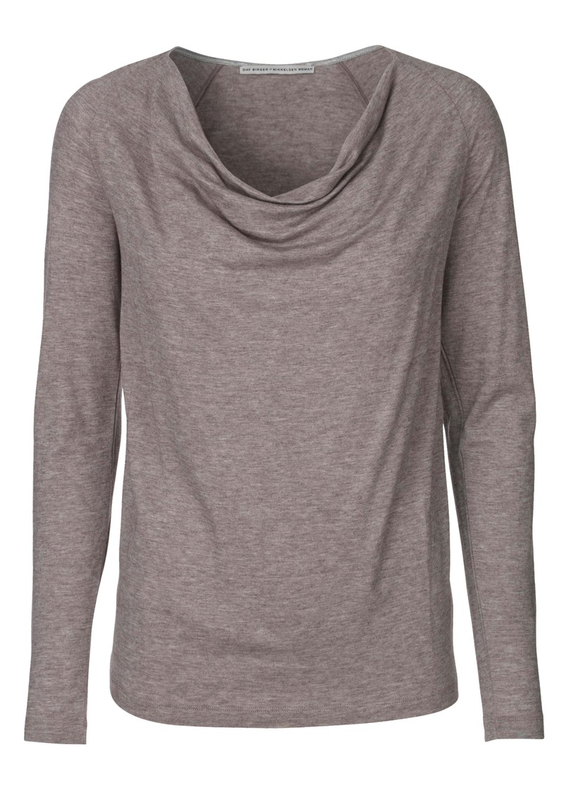 Day Birger et Mikkelsen  Refine Slouchy Top - Grey Melange main image