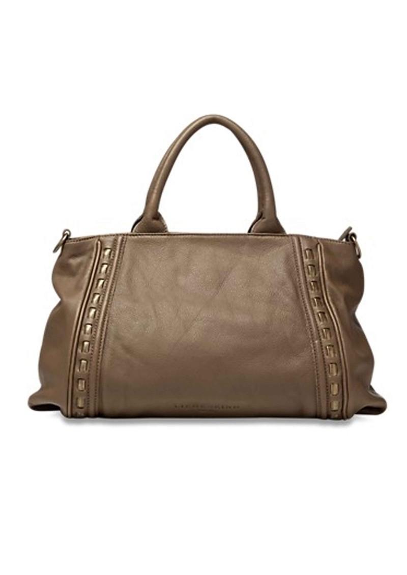 Liebeskind Tonya Metal Rope Leather Handbag  - Truffle main image