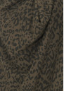 Maison Scotch Cowl Neck Leopard Print Knit - Olive