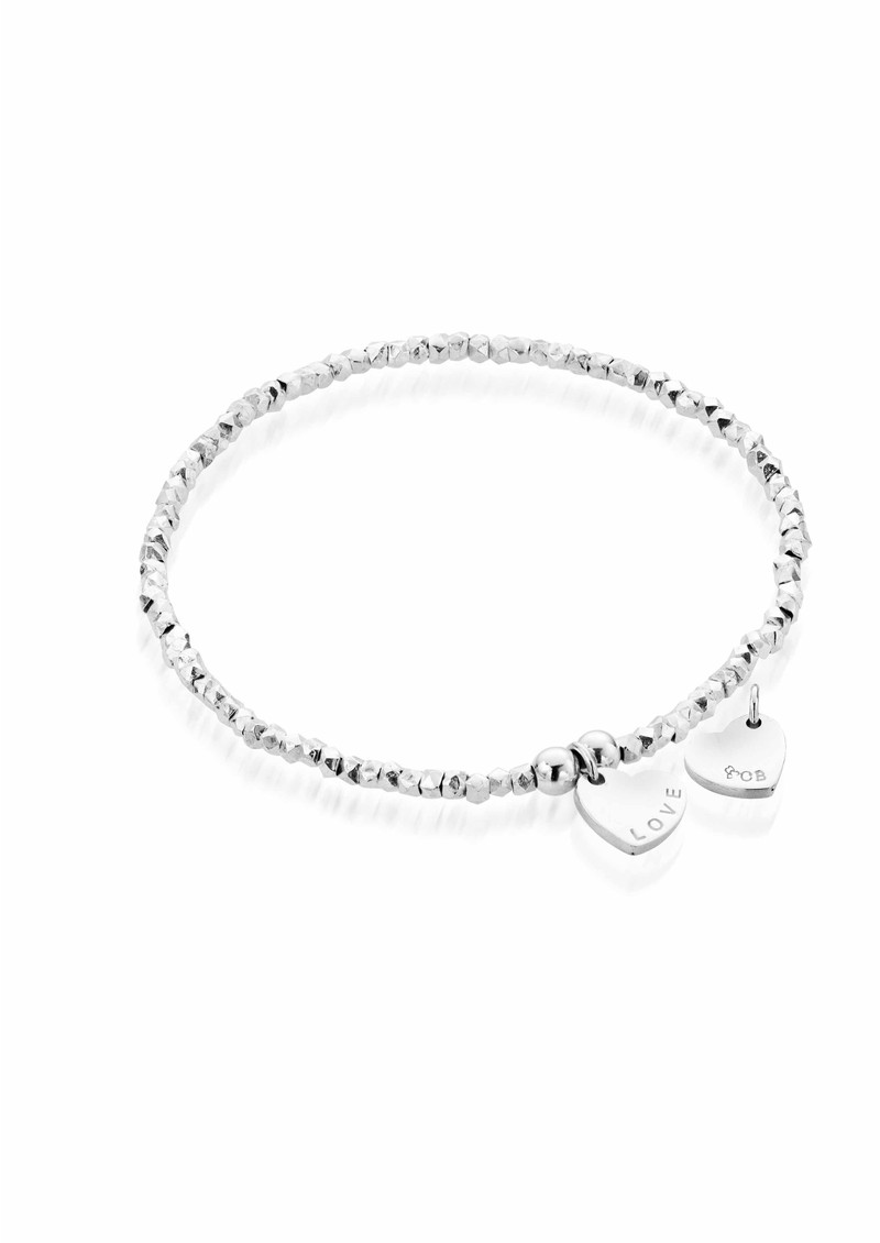 ChloBo Lucky 13 Mini Fancy Bracelet with Love Charm - Silver main image
