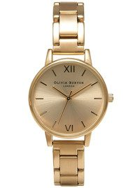 Olivia Burton Midi Dial Bracelet Watch - Gold