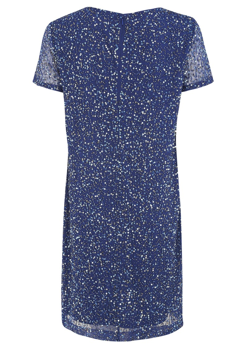 Great Plains Stardust Embellished Dress - Electric Blue main image