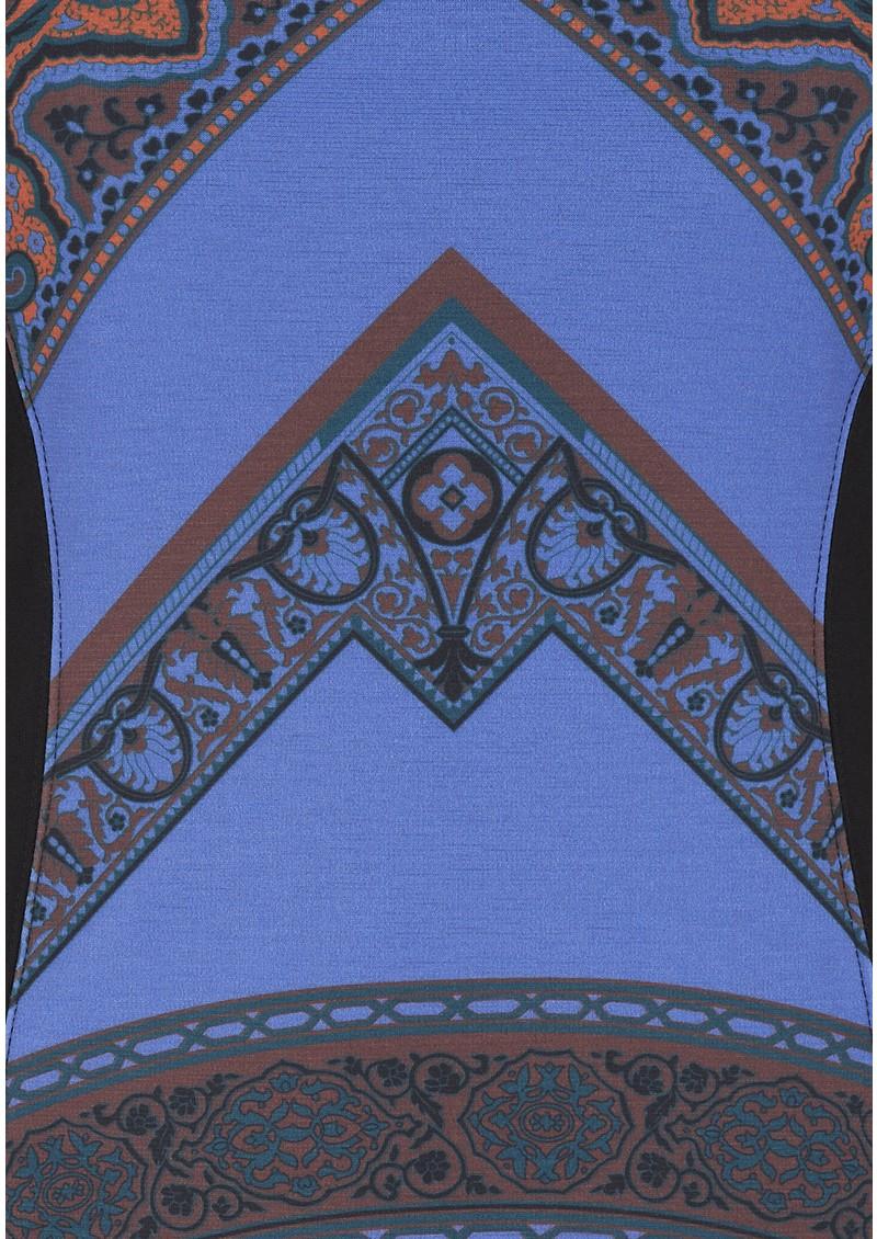Hale Bob Fiona Panel Dress - Purple main image