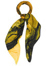 Weston Scarves Tigers Eye Silk Scarf - Tiger