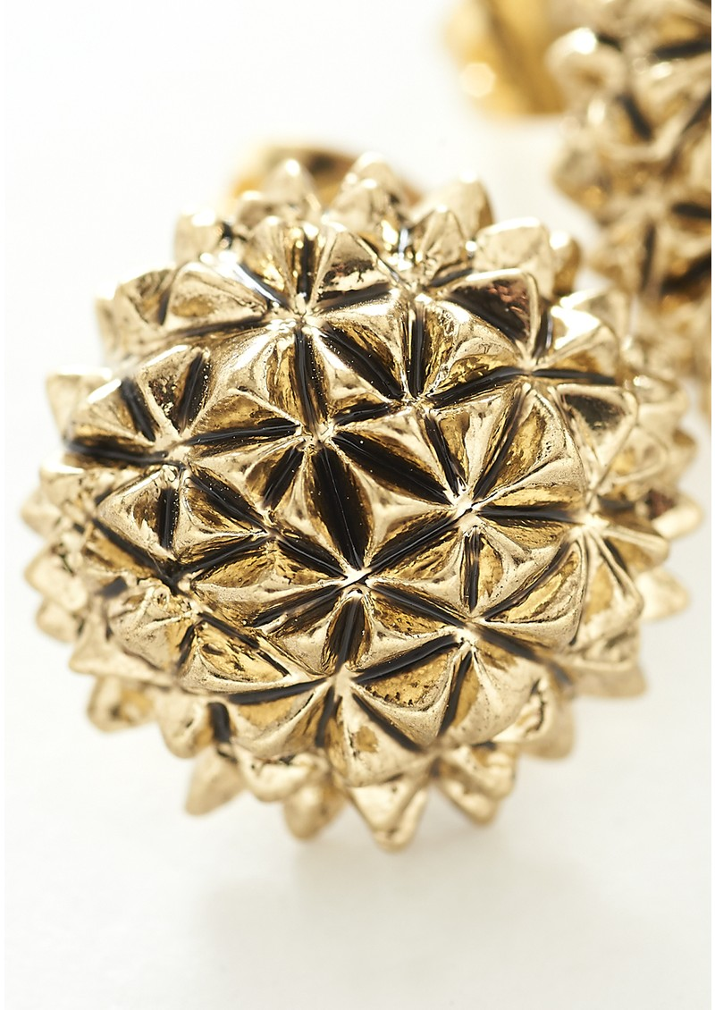House Of Harlow Mini Crater Studs - Gold main image