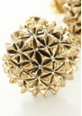 House Of Harlow Mini Crater Studs - Gold