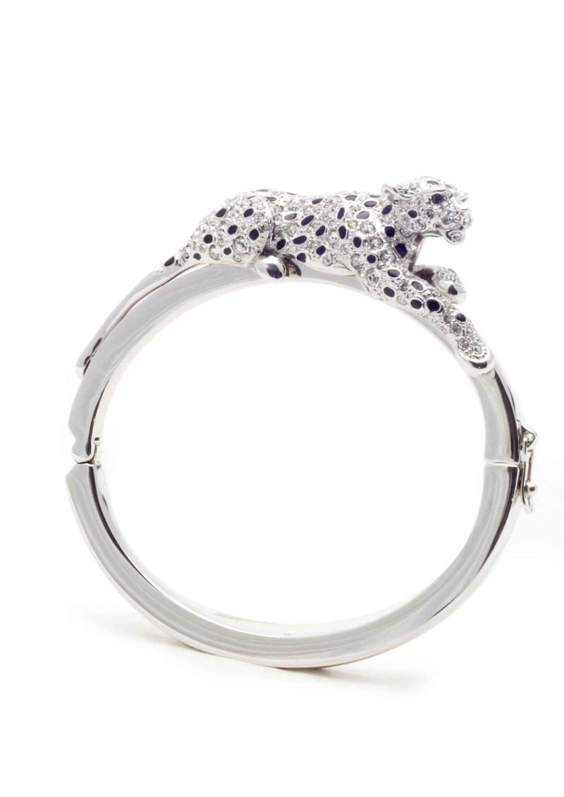 Bill Skinner Snow Leopard Bangle - Silver main image