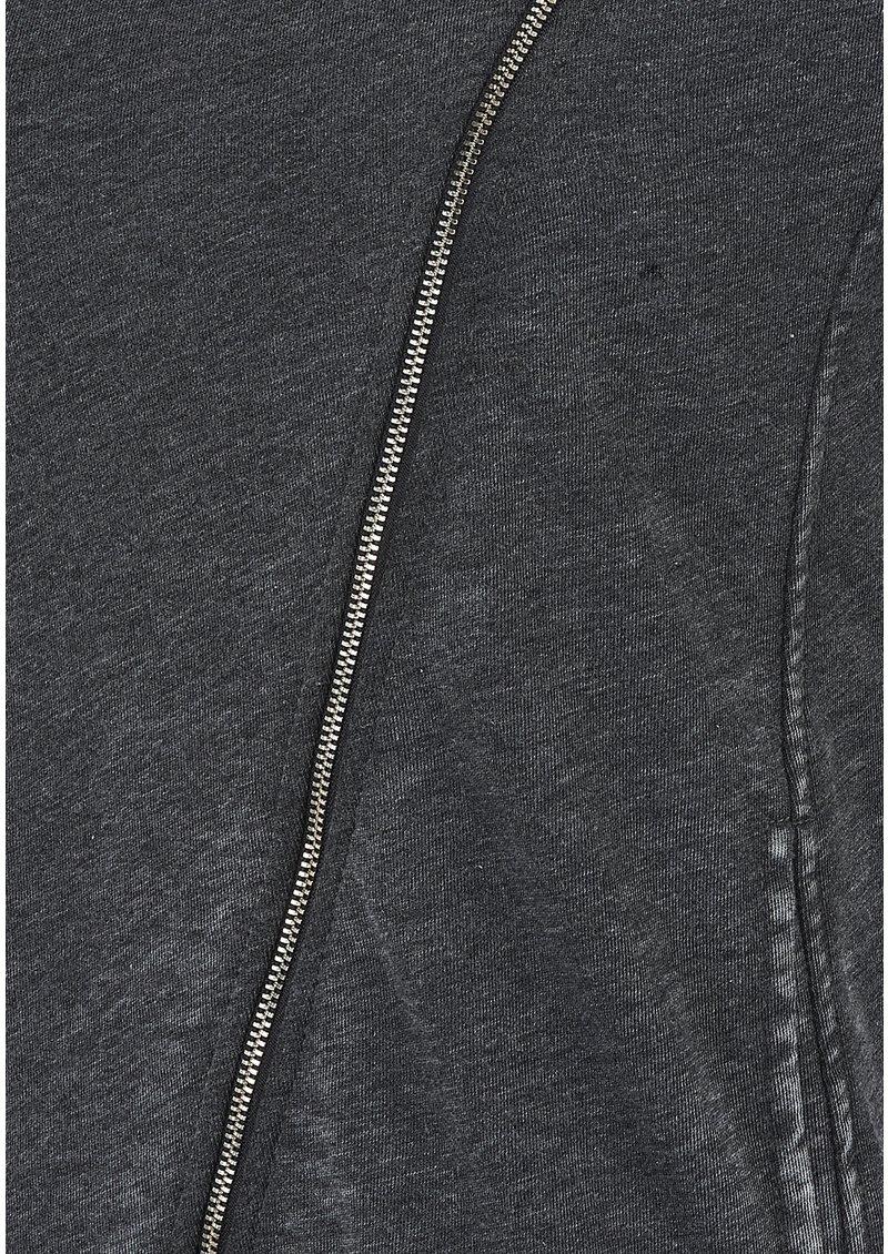 American Vintage Rexburg Zipped Jumper - Carbon Melange main image