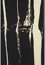 Farhi Stripe Silk Tee - Nude & Black