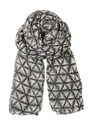H Ombre Fleur Scarf - Black additional image