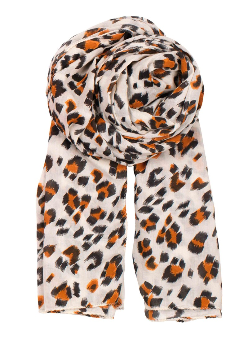 Becksondergaard Blurred Leo Scarf - Bright Orange main image