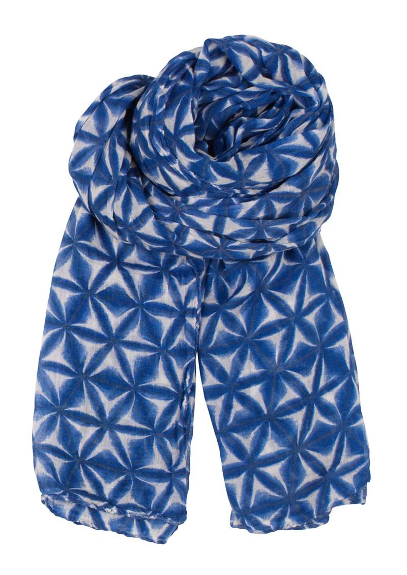 Becksondergaard H Ombre Fleur Scarf - Highlight Blue main image