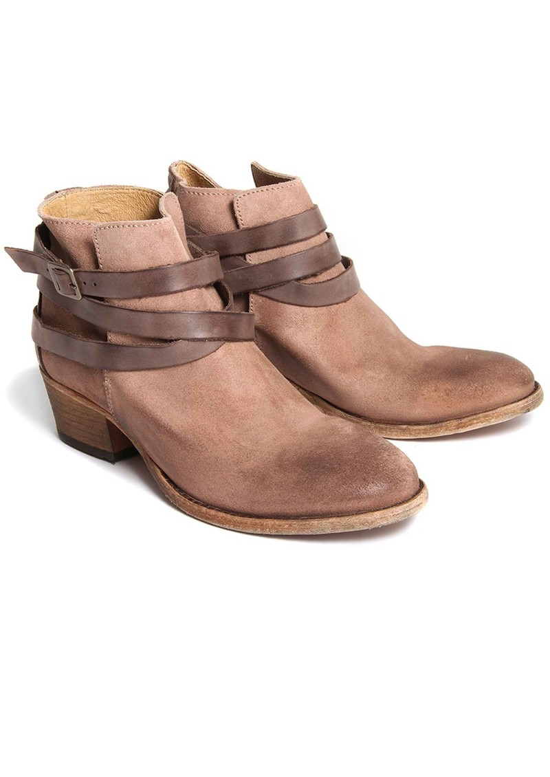 Hudson London Horrigan Suede Ankle Boots - Blush main image