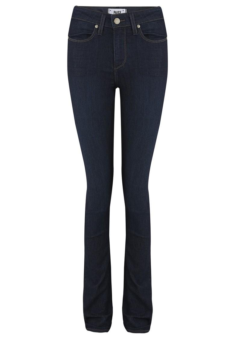 Paige Denim Hoxton High Rise Straight Leg Jeans - Kelly main image