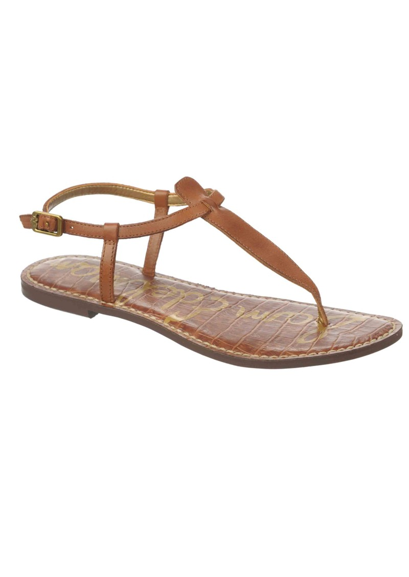 Sam Edelman Gigi Atanado Leather Sandals - Saddle main image