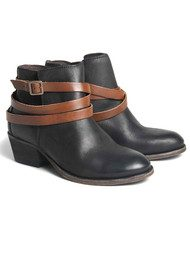 Hudson London Horrigan Ankle Boots - Black & Tan
