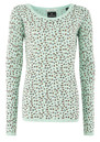 Maison Scotch Signature Crew Neck Jumper - Mint