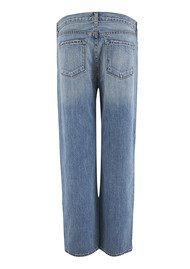 J Brand 1265 Ace Pin Dot Cropped Boyfriend Jeans - Valparaiso