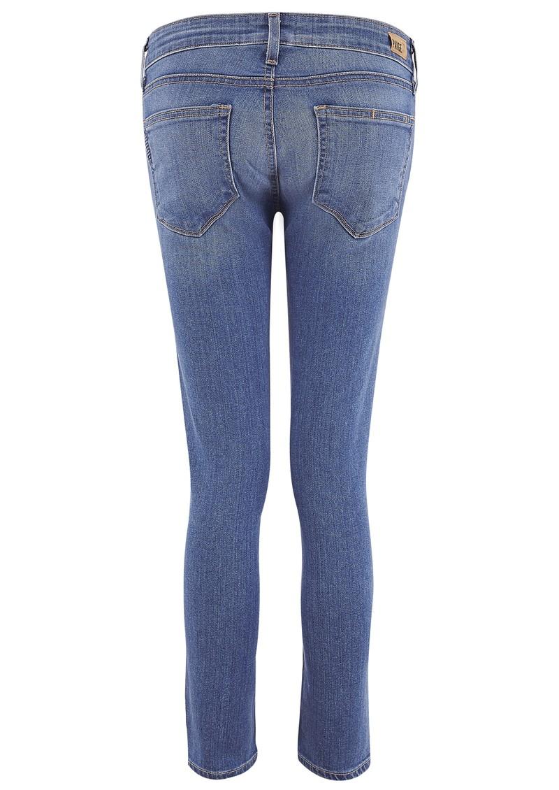 PAIGE DENIM Kylie Crop Skinny Jeans - Harper main image