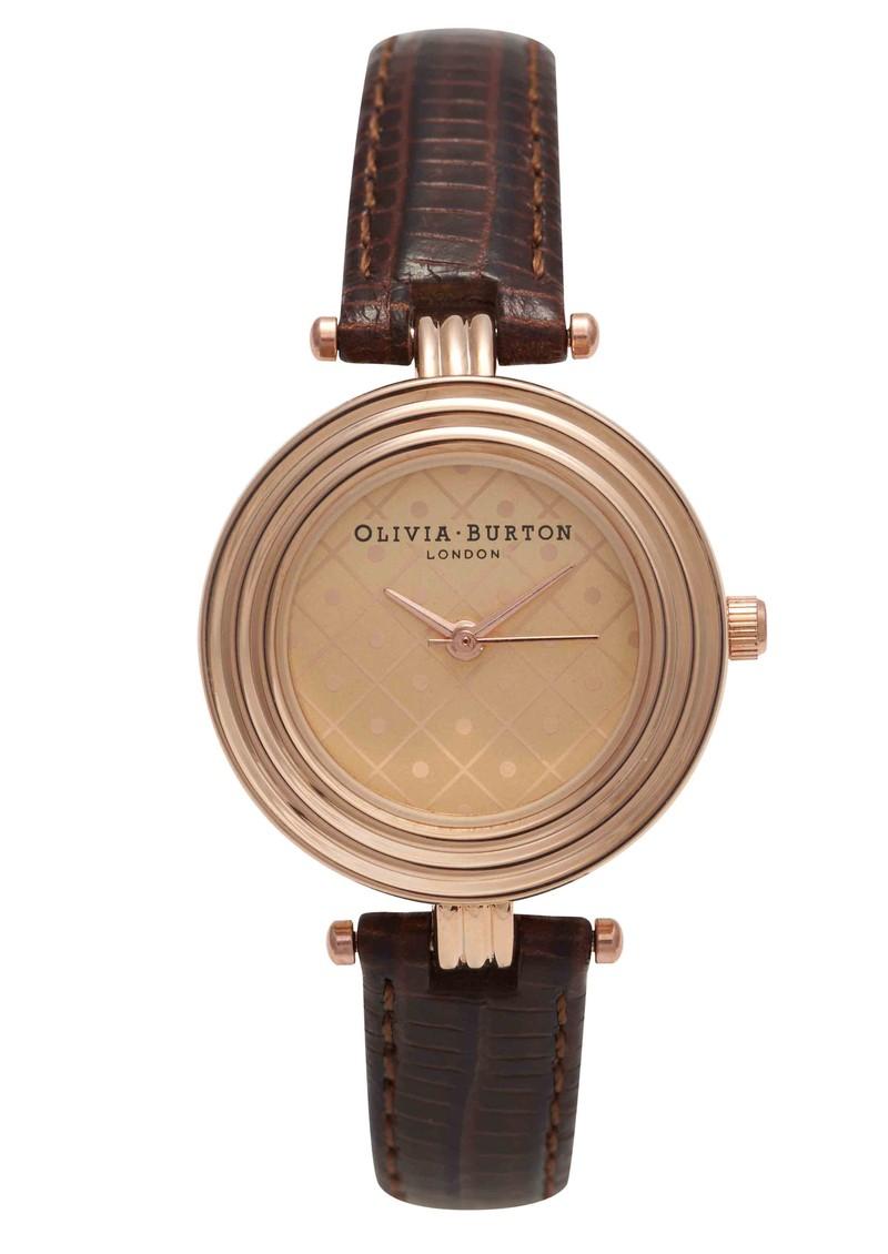 Olivia Burton Modern Vintage Watch - Cognac  main image