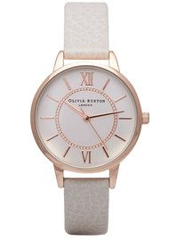 Olivia Burton Wonderland Watch - Mink & Rose Gold
