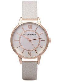 Olivia Burton Wonderland Watch - Mink & Rose Gold