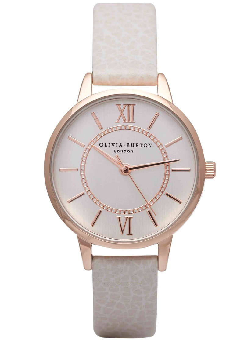 Olivia Burton Wonderland Watch - Mink & Rose Gold main image