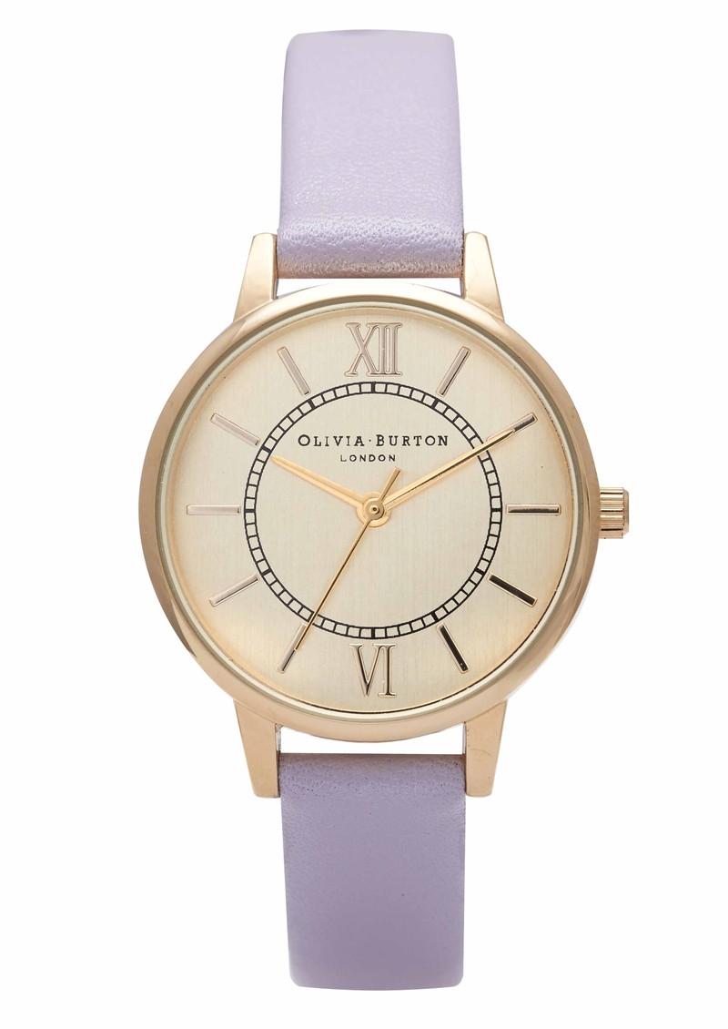 Olivia Burton Wonderland Watch - Lilac & Gold main image