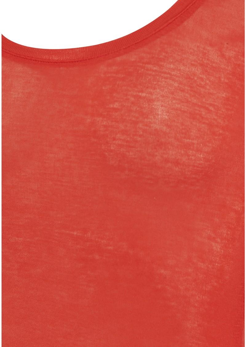 American Vintage Massachusetts Long Sleeve Tee - Poppy  main image