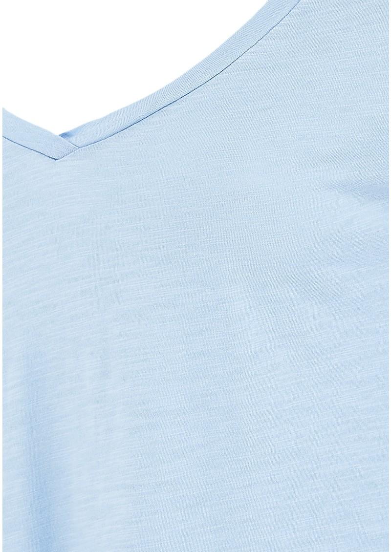 American Vintage Jacksonville Long Sleeved Tee - Crystal main image