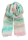 H Playful Dots Scarf - Jade additional image