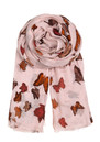 H Butterfly Dream Scarf - Lipstick additional image
