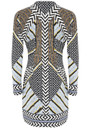 Hale Bob Embellished Printed Dress - Print