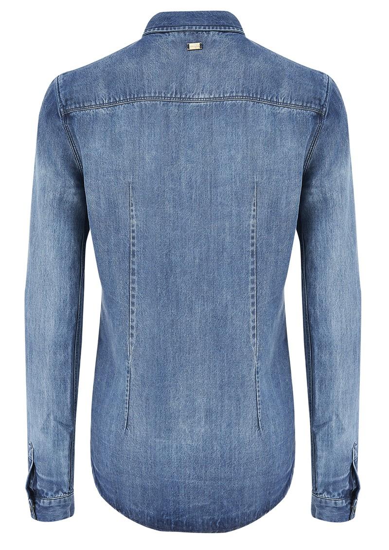 7 For All Mankind Classic Western Denim Shirt - Fading Indigo  main image