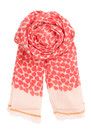 Becksondergaard H Petite Armour Scarf - Electric Coral