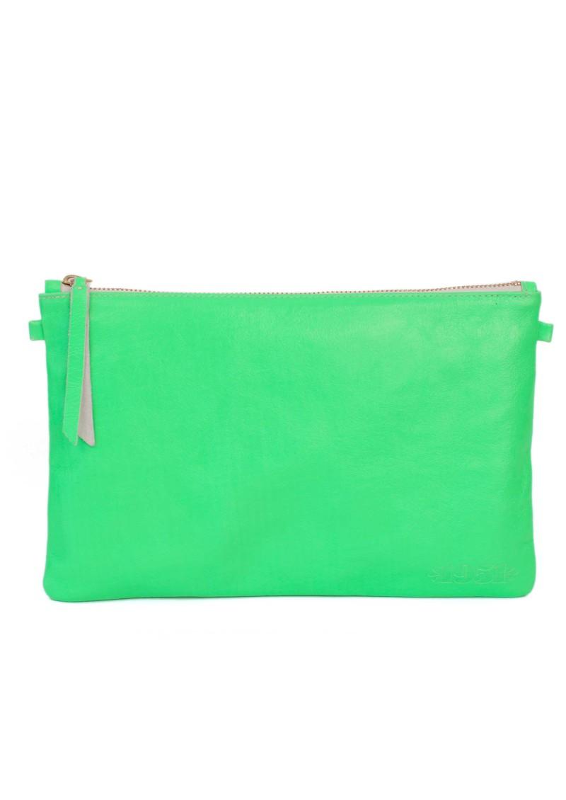 1951 Maison Francaise  Pochette Clutch Bag - Neon Green  main image