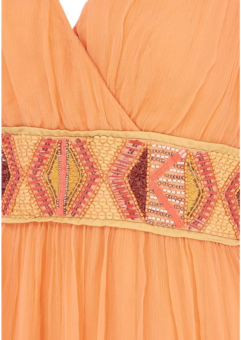 Blank Barce Dress - Orange main image