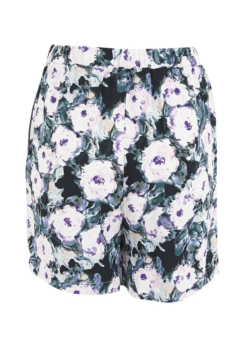 American Vintage Yaqui Shorts - Green Flower main image
