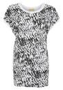 American Vintage Kippersville Short Sleeve Tee - Black & White