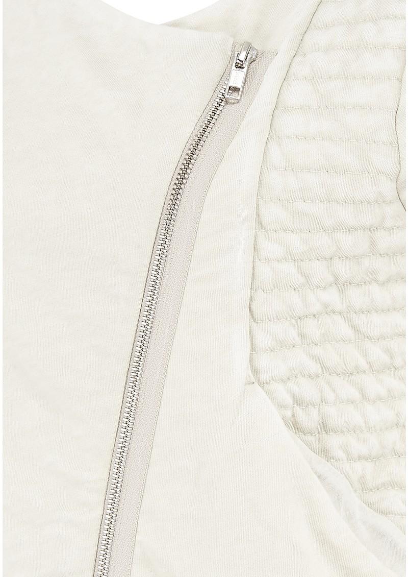 American Vintage Rexburg Zipped Jacket - Chalk Melange main image