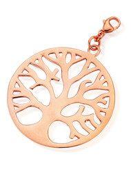 ChloBo Let's Dance Tree of Life Pendant - Rose Gold