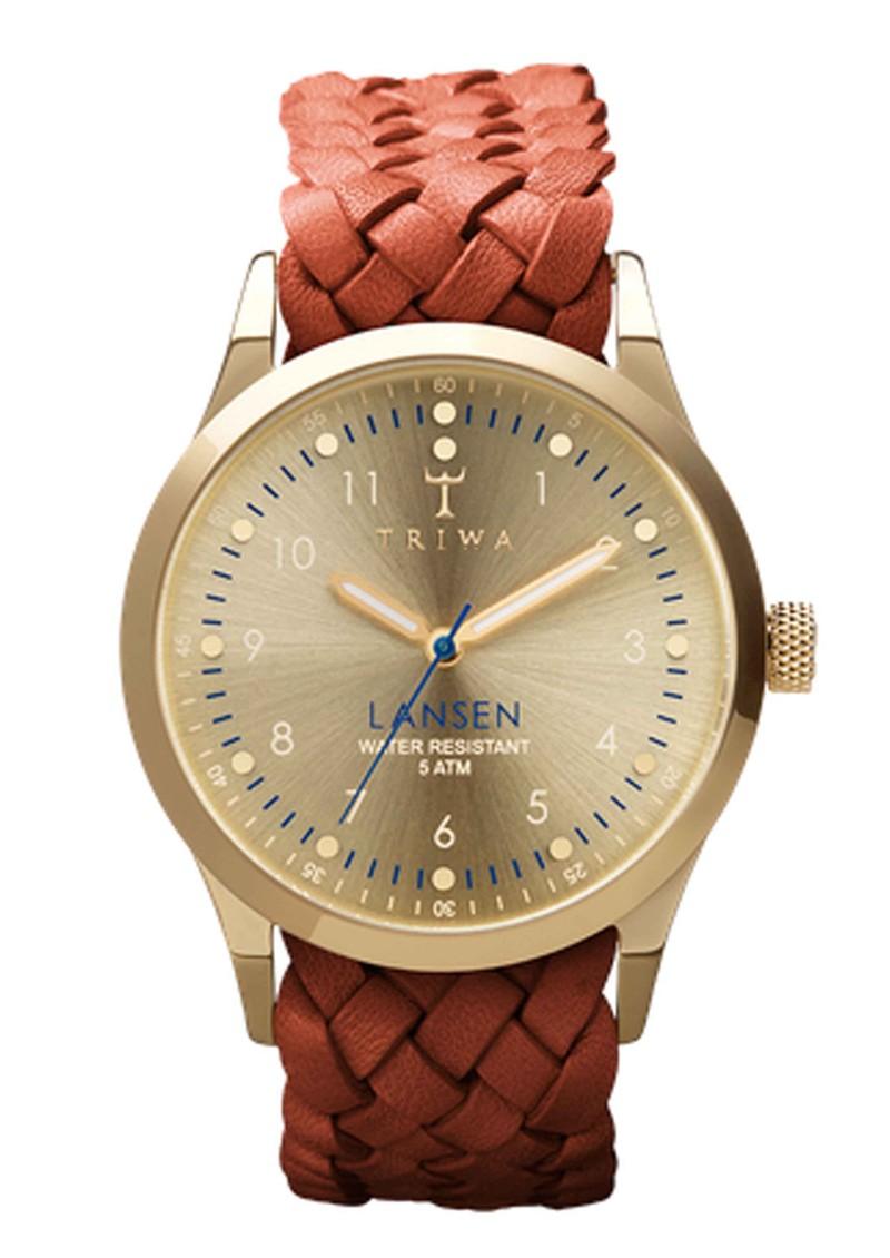 Triwa Gold Lansen Watch - Gold & Brown main image