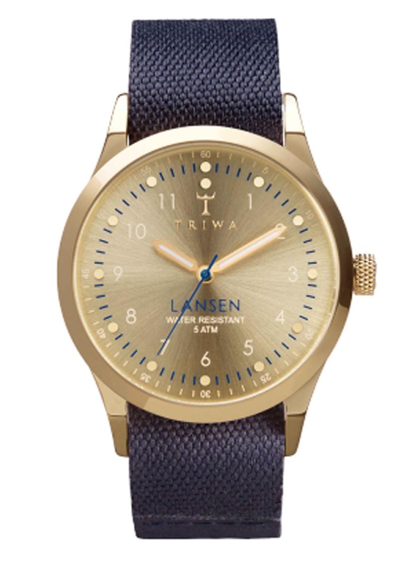 Triwa Gold Lansen Watch - Gold & Navy Blue main image