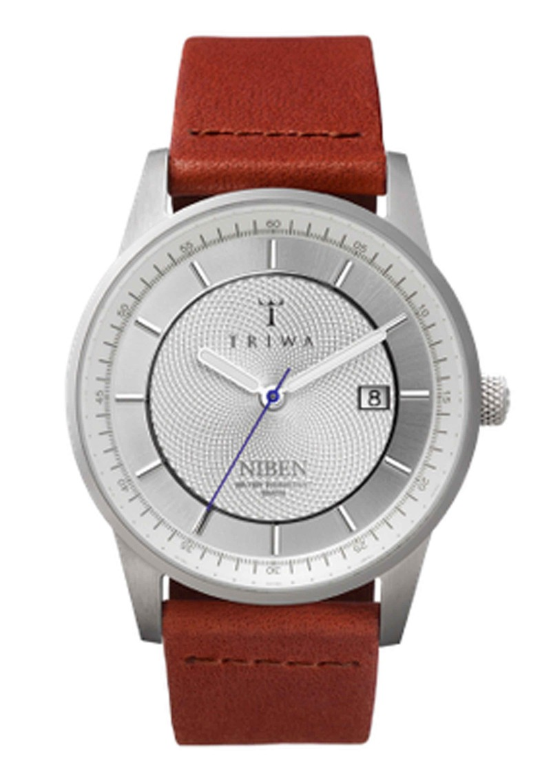 Triwa Stirling Niben Watch - Sliver & Brown main image
