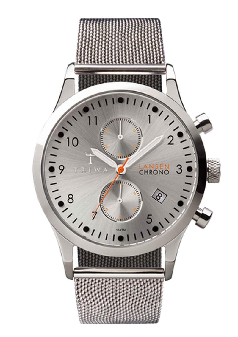 Triwa Stirling Lansen Chronograph Watch - Steel main image