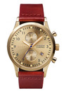 Triwa Gold Lansen Watch - Gold & Brown Braided