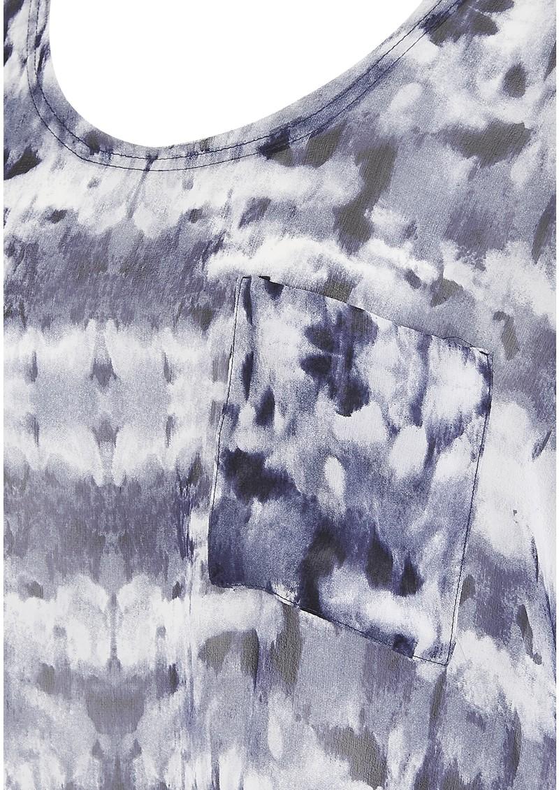 American Vintage Titusville 3/4 Sleeve Top - Kaleidoscope  main image